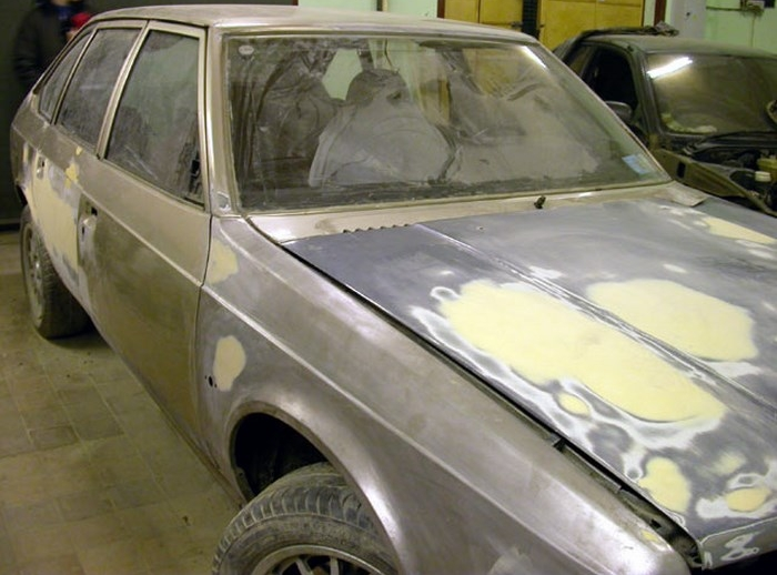 Покраска автомобиля своими руками шагрень видео уроки
