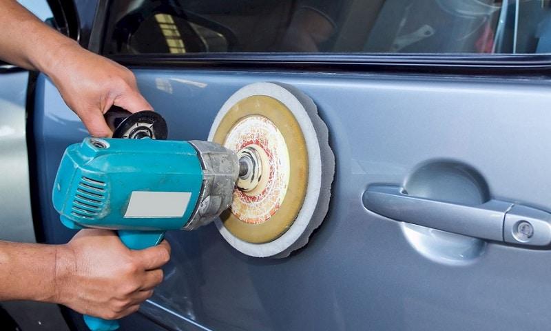 Как убрать сколы на кузове автомобиля