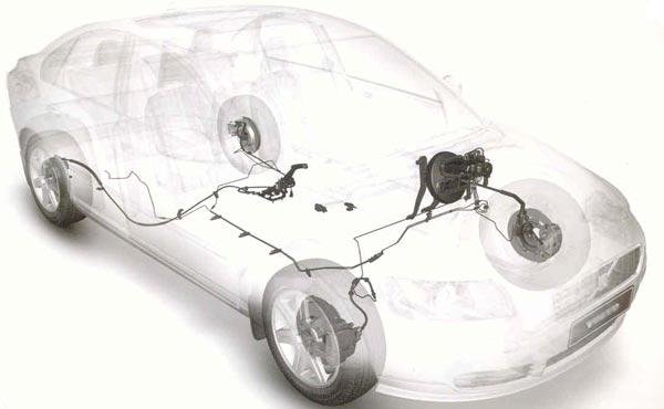 Как устроена тормозная система автомобиля