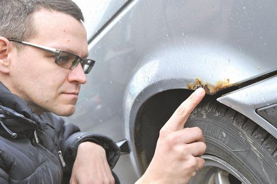 Как остановить ржавчину на кузове автомобиля