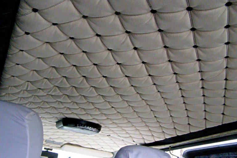 Потолок для автомобиля своими руками