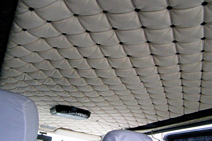 Ремонт обшивки потолка автомобиля своими руками
