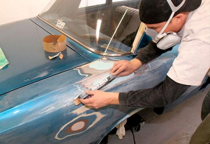 Как покрасить кузов автомобиля своими руками