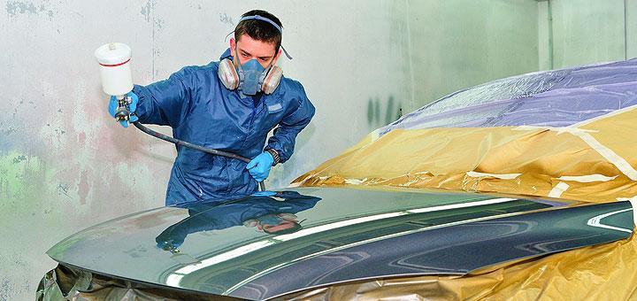 Производственная окраска автомобиля