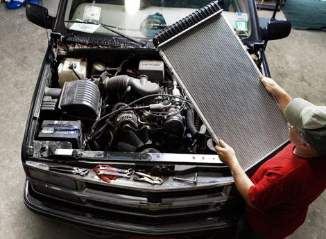 Ремонт радиатора автомобиля своими руками