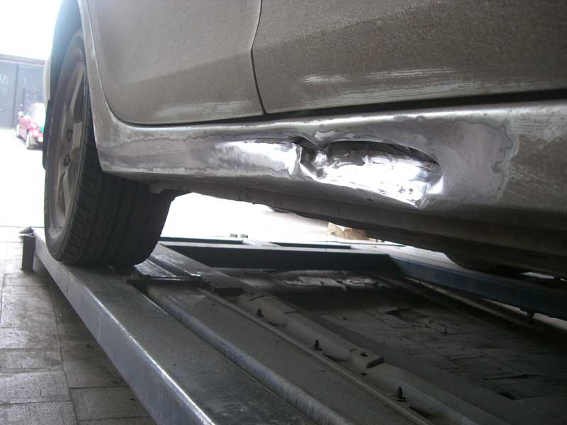 Ремонт порога автомобиля своими руками