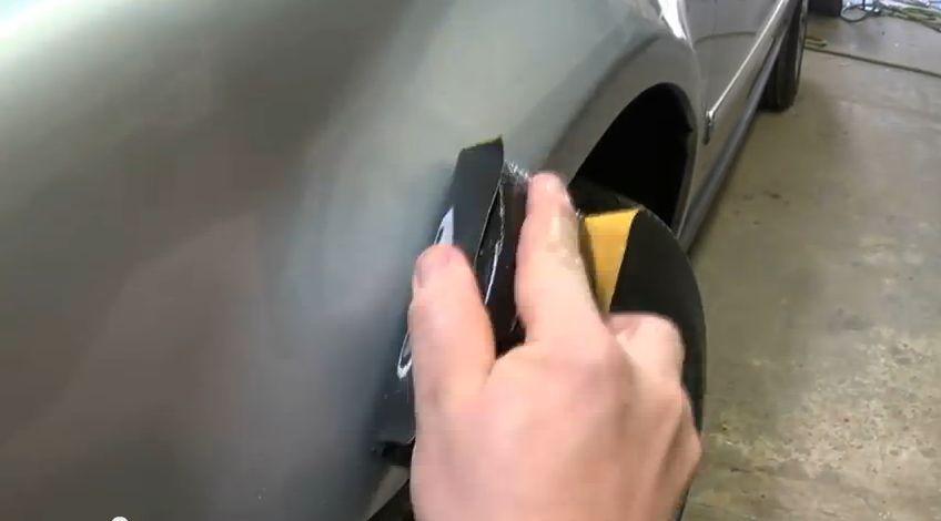 Замена автомобильных арок своими руками