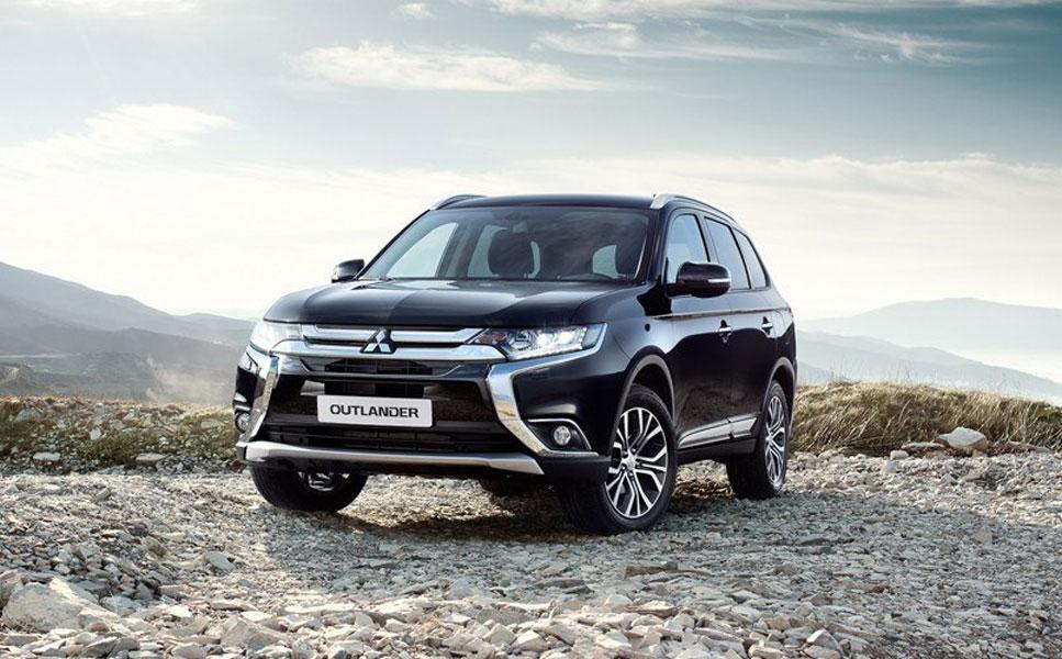 Экстерьер нового Mitsubishi Outlander