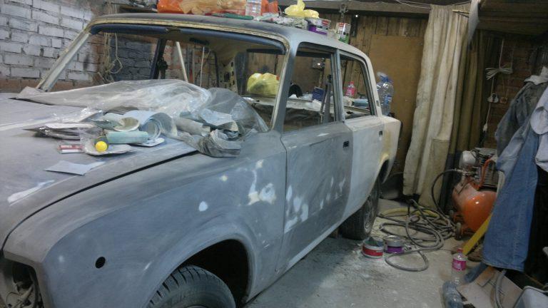 Реставрация машины своими руками 9