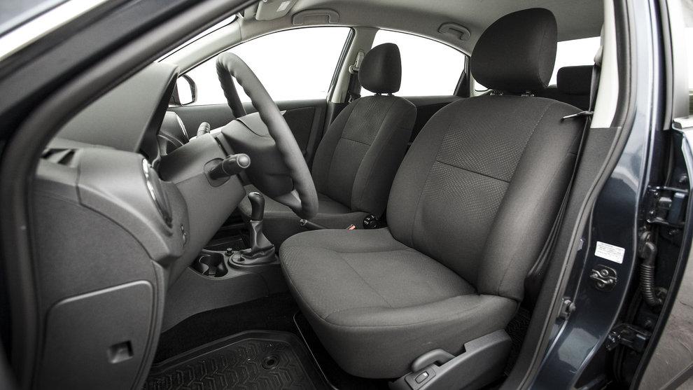 Внутренне пространство машины