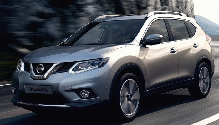 Механические характеристики машины Nissan X-Trail