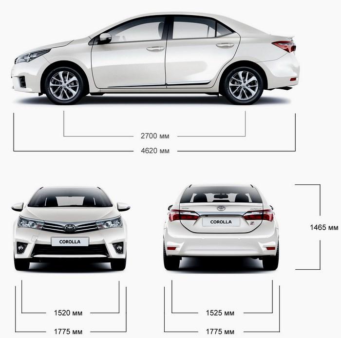 Тойота Королла 2016 технические характеристики