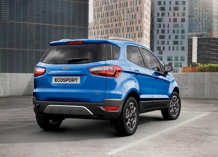 Технические характеристики Ford EcoSport