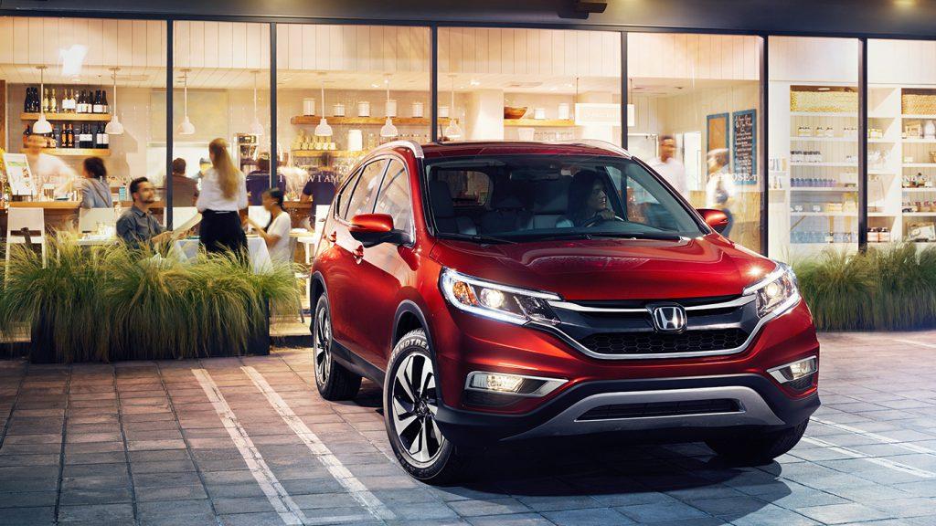 Управление и динамика Honda CR-V.