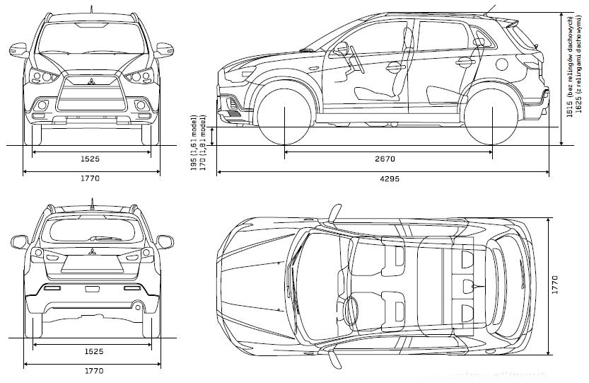 Mitsubishi ASX характеристики