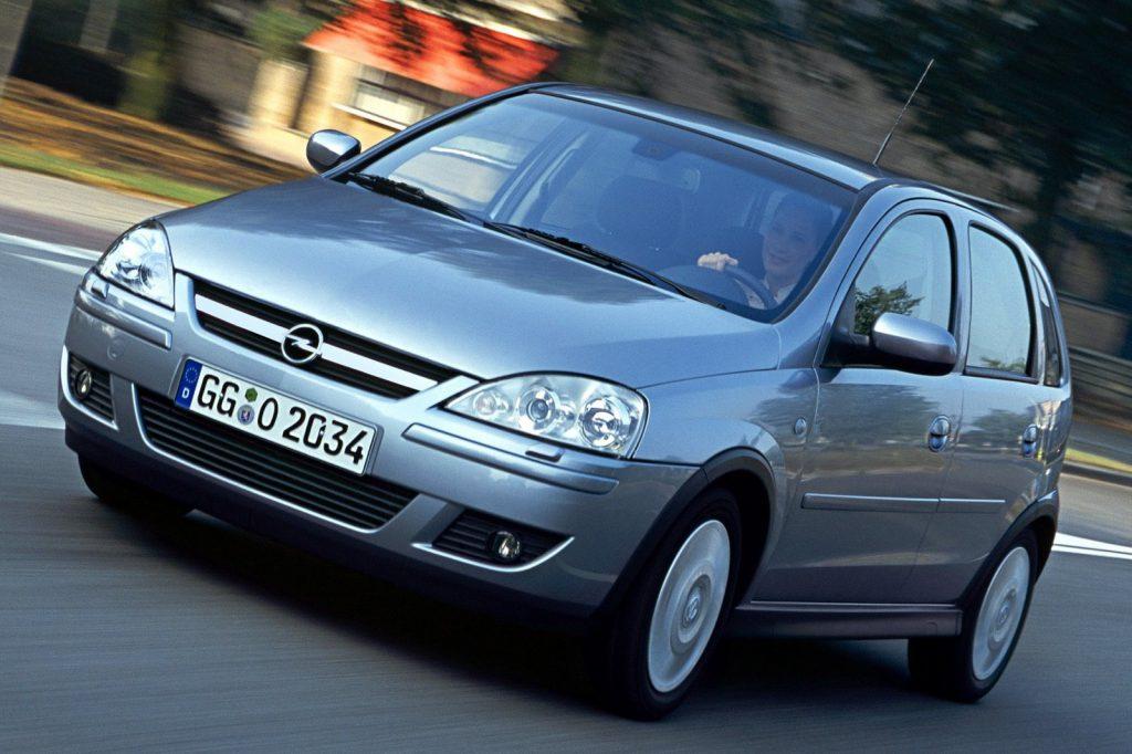 Opel Corsa 2000-2006 года выпуска (C)