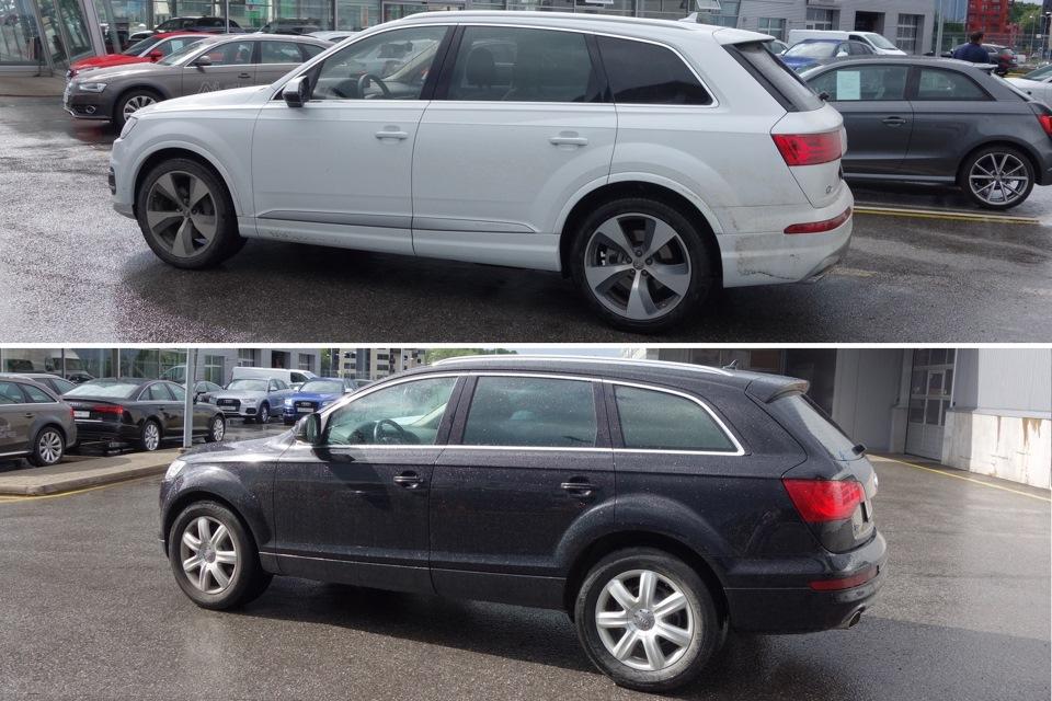 Какие внешние изменения постигли Audi Q7:
