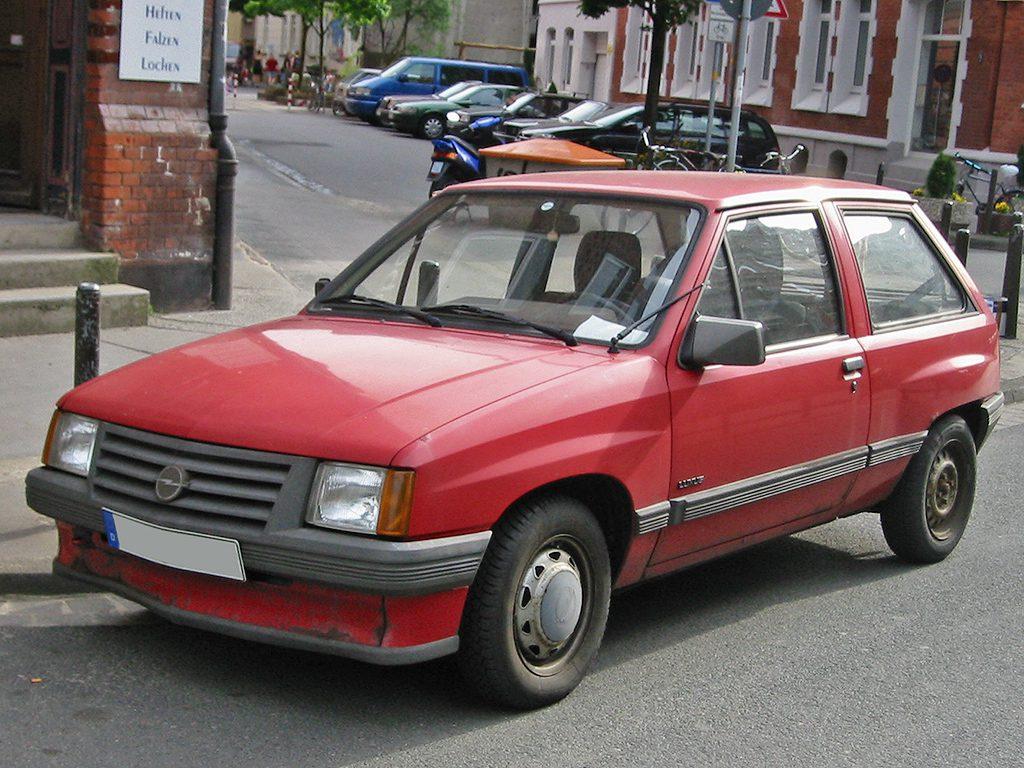 Opel Corsa 1982-1993 года выпуска (A)