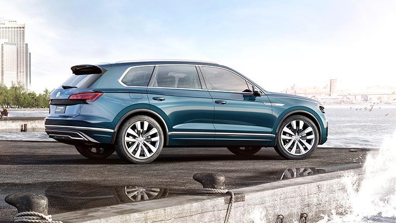 Краткие технические характеристики Volkswagen Touareg