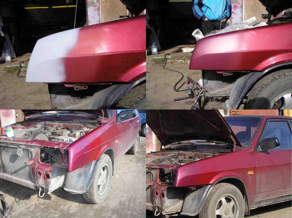 Lada Kalina: самостоятельный ремонт