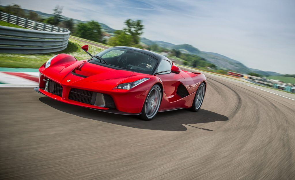 Особенности кузова Ferrari Laferrari Ф40