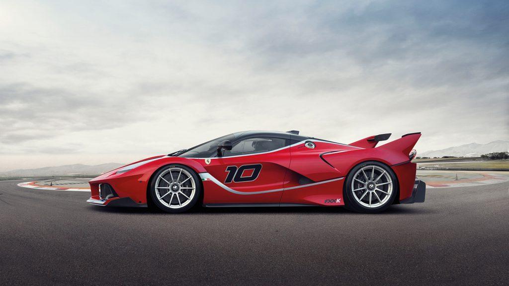 Мощнейший трековый гиперкар Ferrari FXX K
