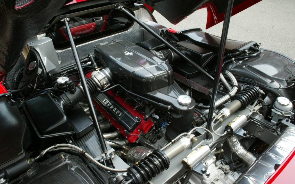 Двигатель Ferrari Enzo