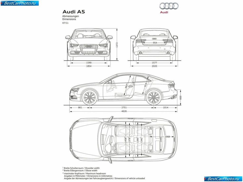 Audi A5 характеристики