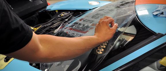 Защитная плёнка на лобовое стекло автомобиля