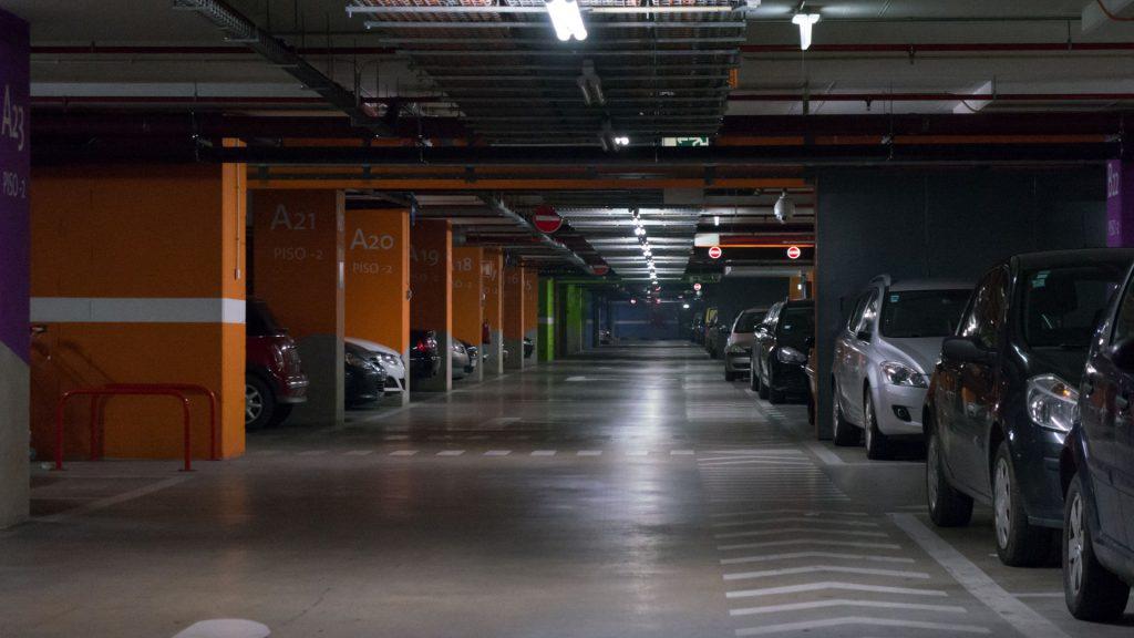 Место хранения автомобиля