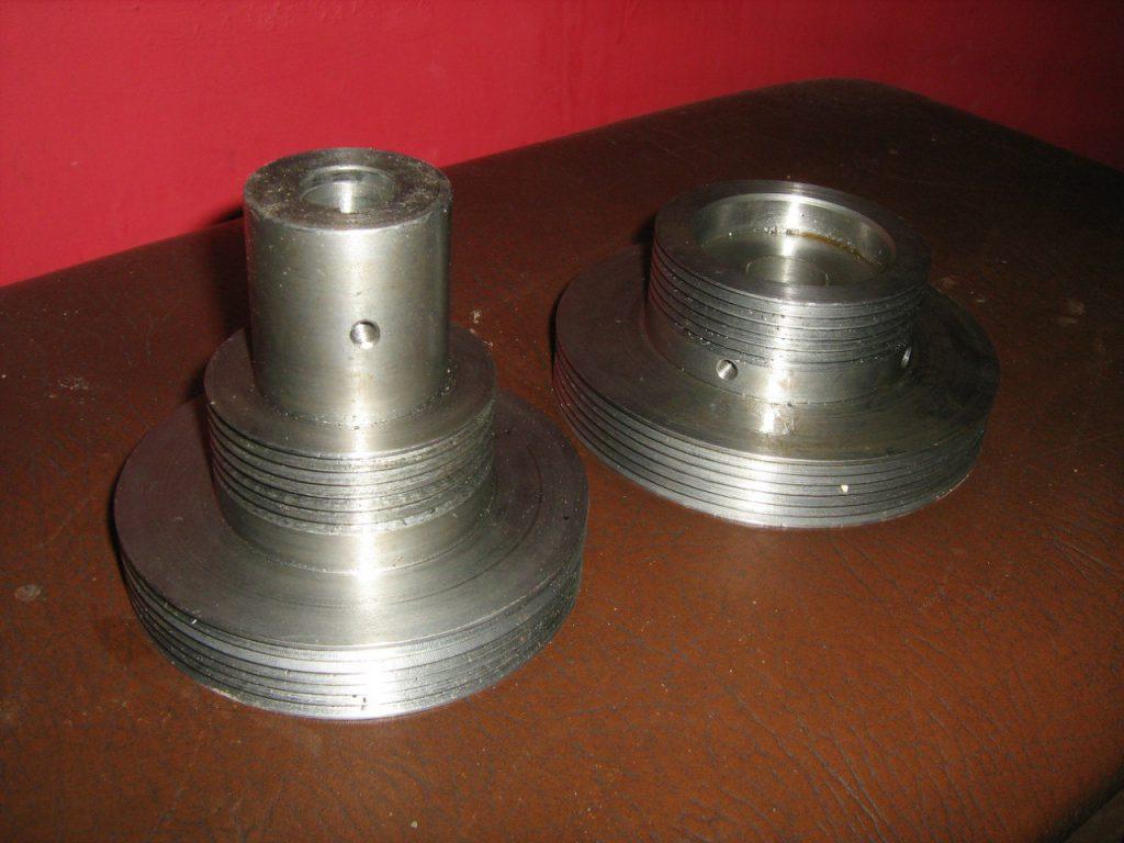 Шкив для регулировок скоростей и нагрузок на станочный двигатель