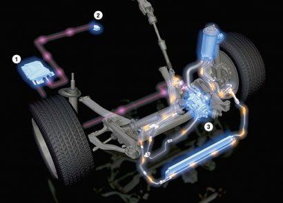Нарушение работоспособности гидроусилителя рулевого колеса
