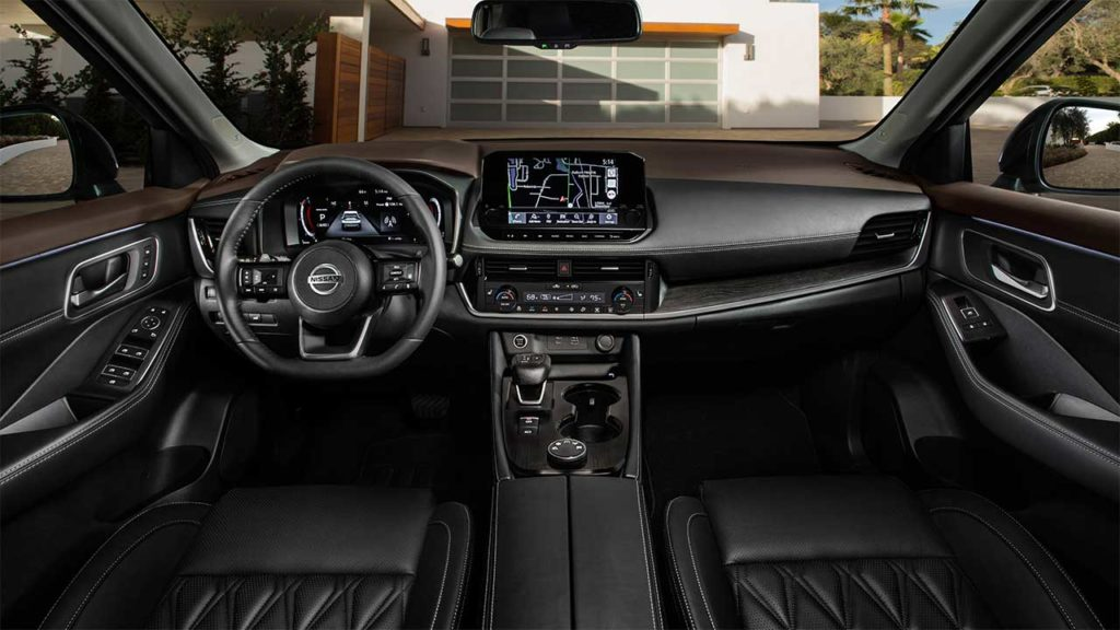 Nissan X-Trail 2021 фото салона