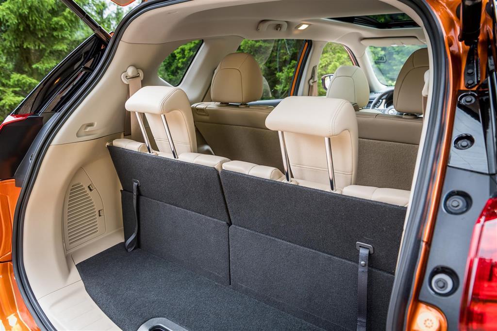 Nissan X-Trail 2021 габариты багажника