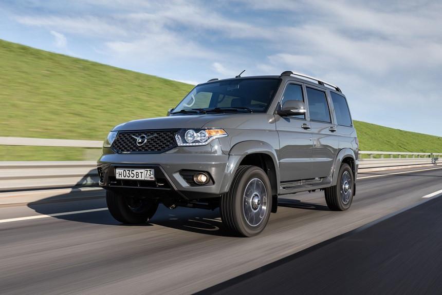 УАЗ Патриот 2021 модельного года в новом кузове