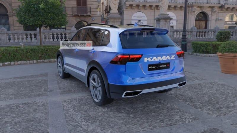 Новый кроссовер КамАЗ 2021 фото