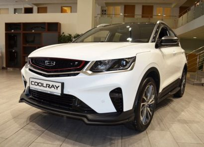 Geely Coolray 2021 года